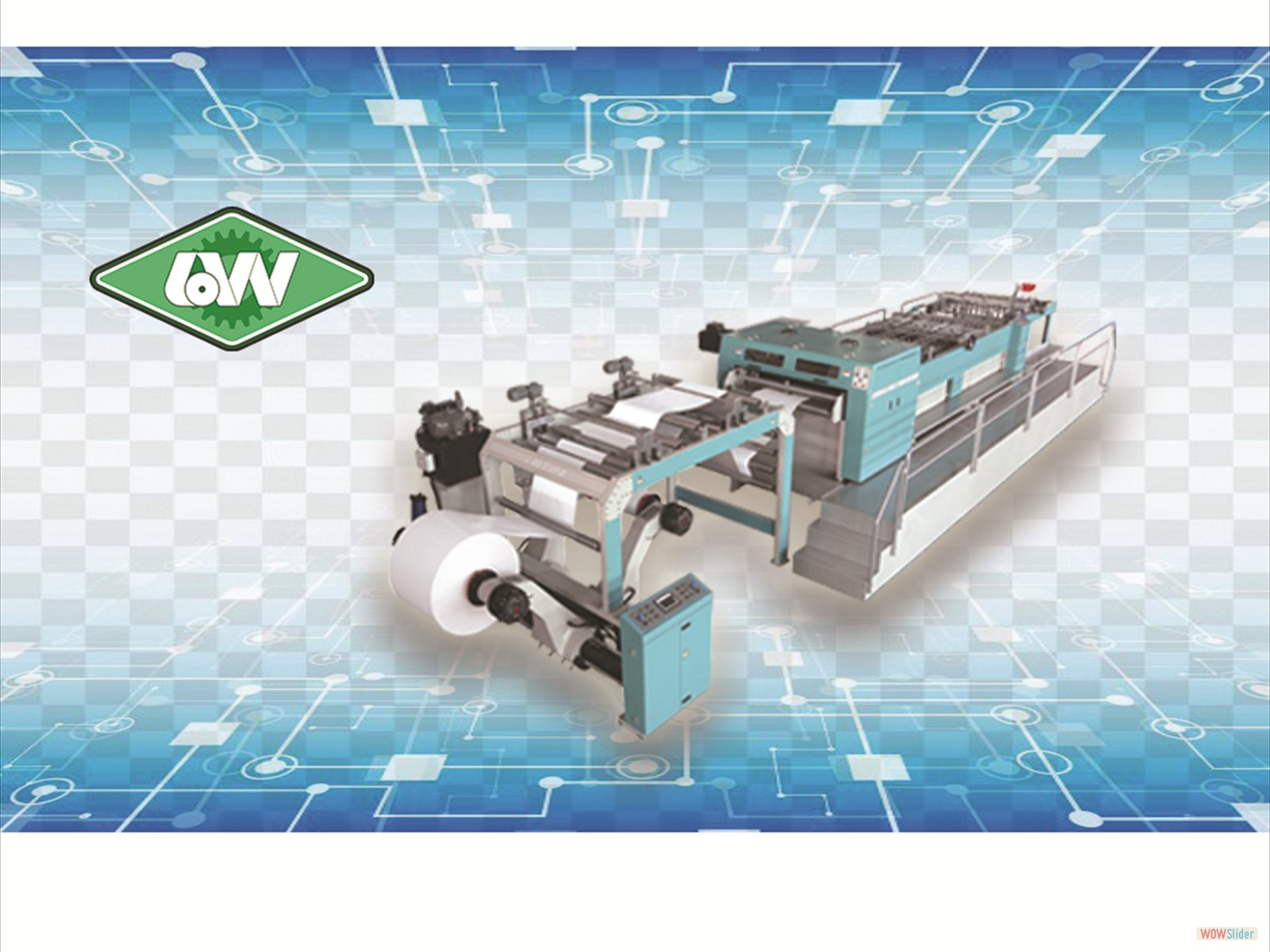 ACCURA Synchro-Fly High Speed Sheeting Machine
